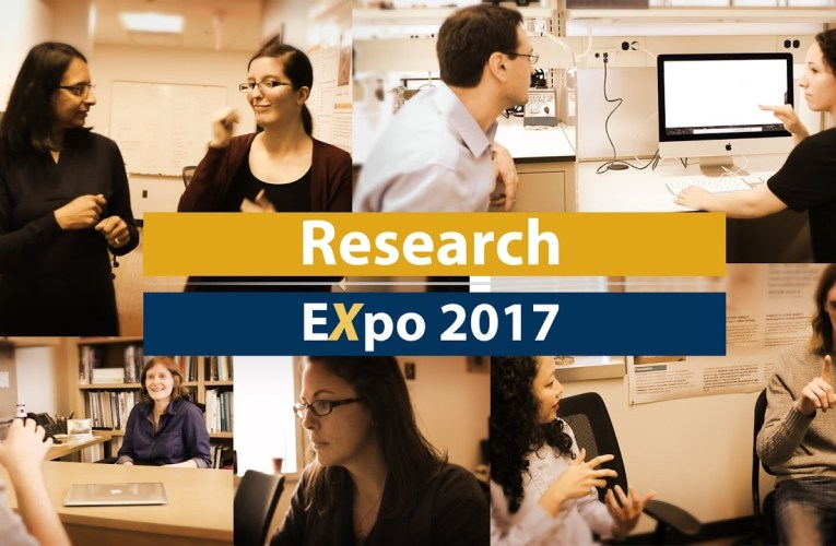 Research Expo 2017: Promoting Partnerships and Collaboration Between Faculty and Student Researchers