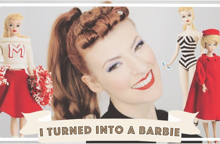 I turned myself into a vintage Barbie! [CC]
