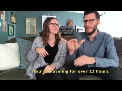 Basic Travel Tips | Deaf and Hearing couple