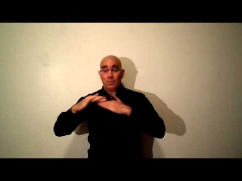 """Stephen Crane's """"A Man Said To The Universe"""" translated into American Sign Language"""
