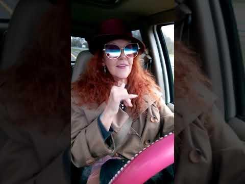"""Jennifer Delora #DeafTalent performing """"Shoop"""" by Salt & Pepa #carpoolkaraoke style"""
