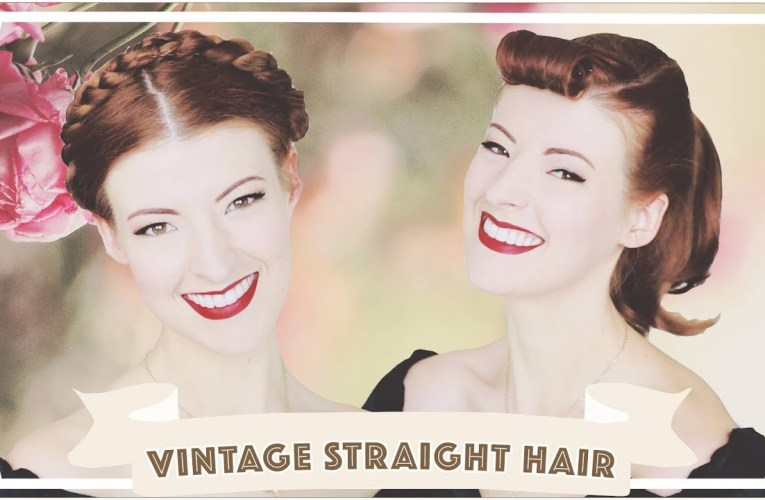 Vintage Styles for Straight Hair! [CC]