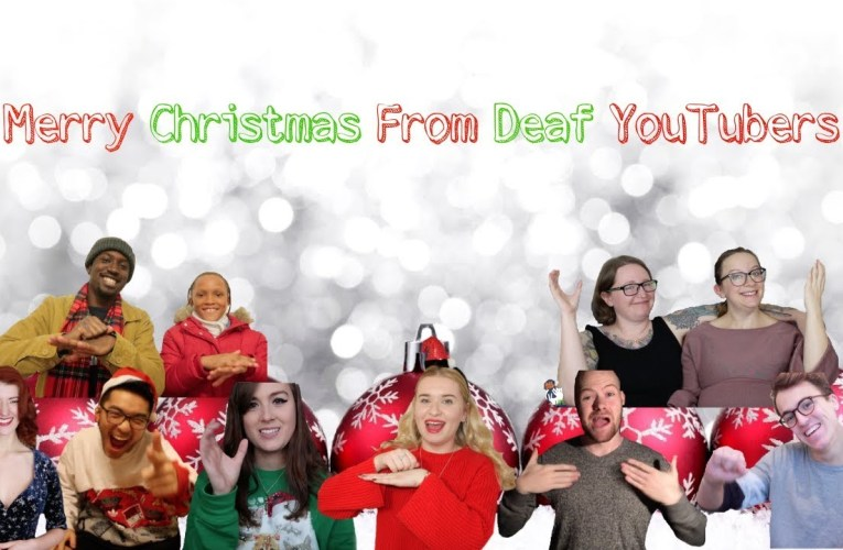 Merry Christmas From Deaf YouTubers | Jazzy