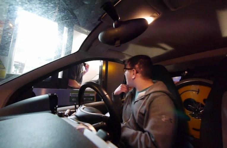 Deaf Drive-Thru | Deaf vlog disability subtitles cc accessibility