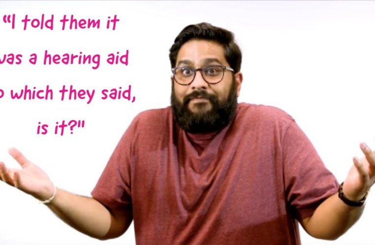 The most ridiculous things comedian with hearing loss gets asked #DontBeADonut #BeDeafAware