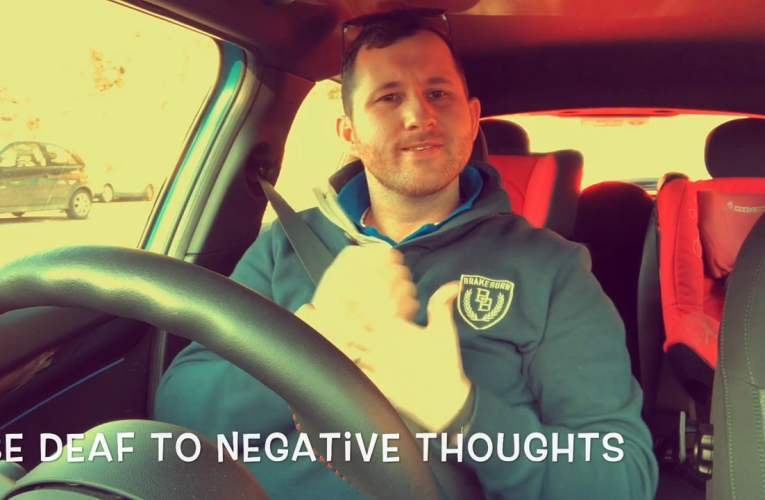 Be Deaf to negative thoughts