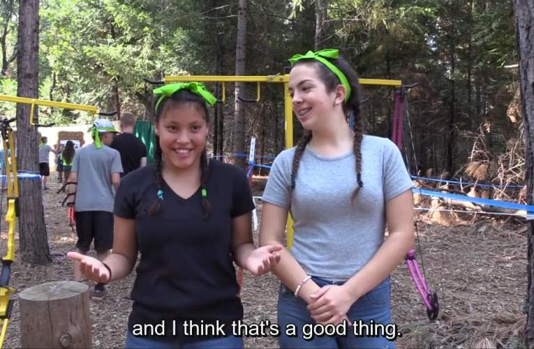 Interview with a Camp Grizzly Little!