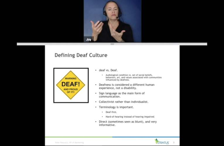 How to Best Serve Deaf/Hard-of-Hearing Patients – May 2018 Webinar