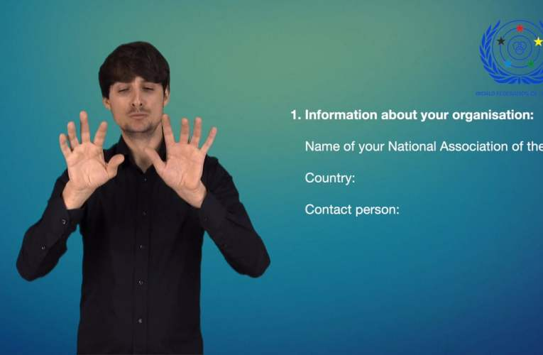 1. Information about your organisation