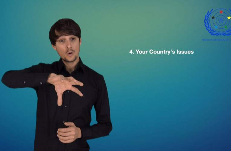 4. Your Country's Issues