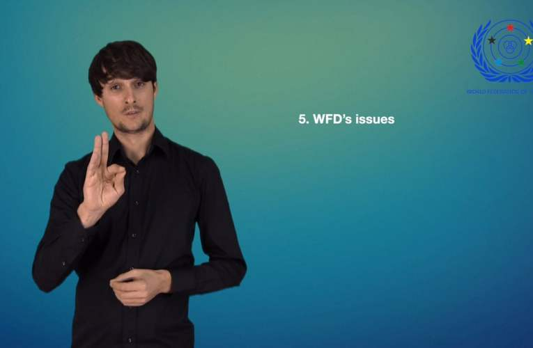 5. WFD's issues