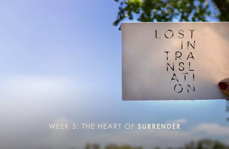 06/23/19 The Heart of Surrender