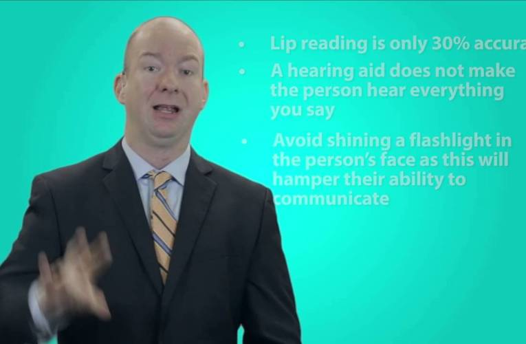 Missouri Commission for the Deaf and Hard of Hearing Visor Communication Card