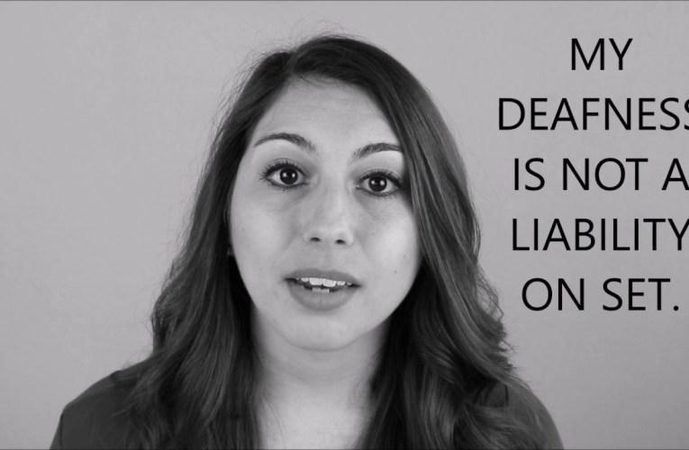 "The ""Deaf Actress"" Problem"