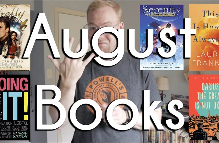 August Books Wrap Up | BookTube