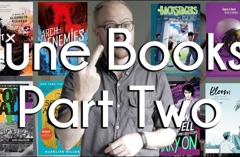 June Books Wrap Up Part 2 | BookTube