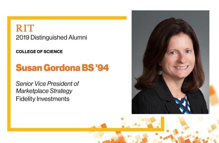 2019 COS Distinguished Alumna: Susan Gordona BS '94