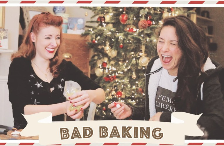 Bad Baking with Jessie and Claud // Christmastide Day 4