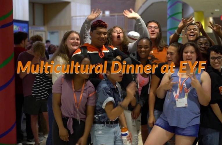 Multicultural Dinner at EYF