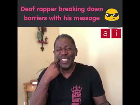[ASL] Warren Snipe – Deaf rapper breaking down barriers with his message
