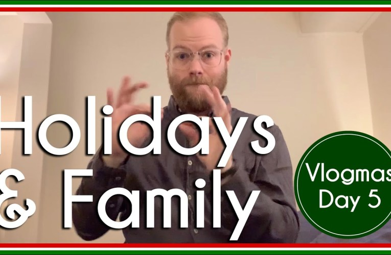 Being queer during the holidays | Vlogmas