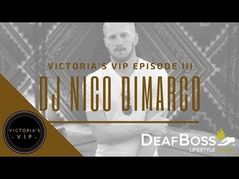 Victoria's VIP Interview with DJ Nico DiMarco   Deaf Talent   DeafBoss
