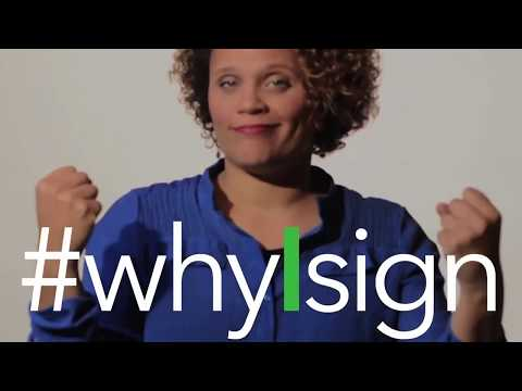 Rosa Lee Invites YOU to Join the #whyIsign Campaign