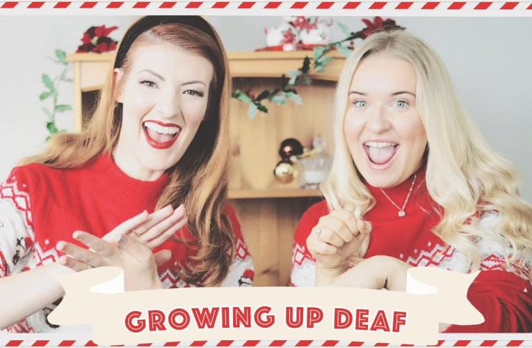 Growing Up Deaf vs Growing Up Hearing ft. @Jazzy // Vlogmas 2019 Day 16