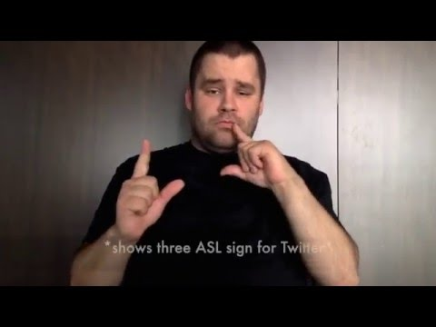 Understanding Twitter in American Sign Language