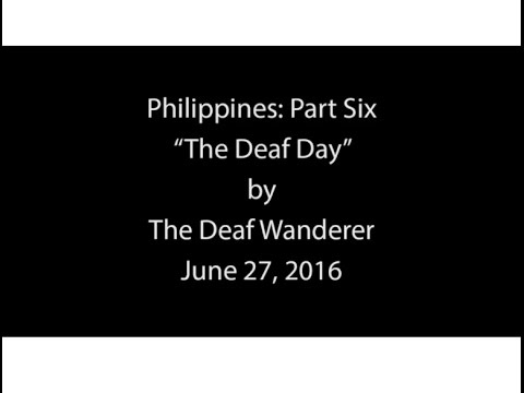 Preview: The Deaf Day