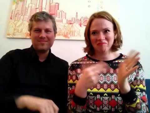 #whyIsign The Deaf UNIMODAL BILINGUAL Parker-Lindeberg Family