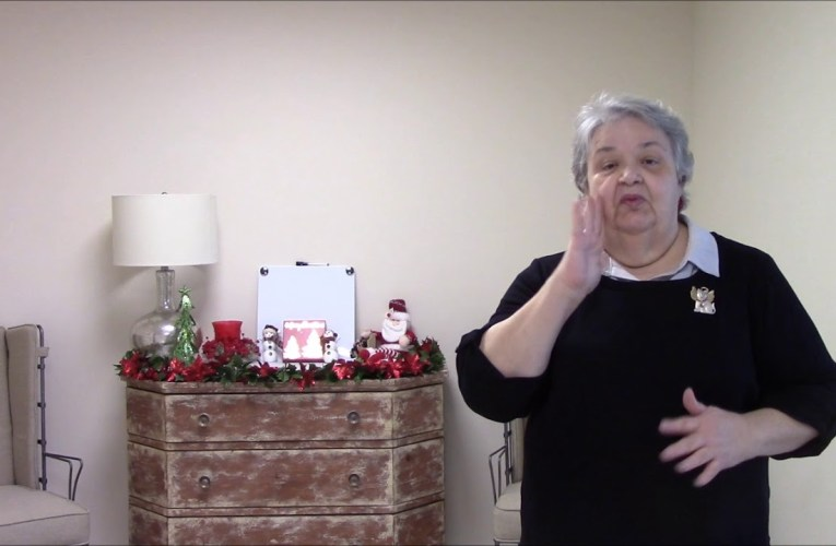 Christmas Greeting from Alder Springs Deaf & Blind Community