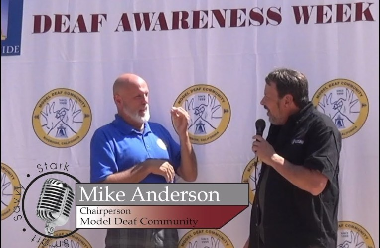 Ron Stark is on Location at Deaf Awareness Week with The Model Deaf Community
