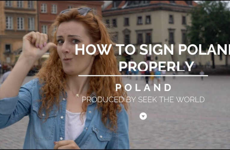 "Mind-blowing Fact: Signing ""Poland"" Country Properly"