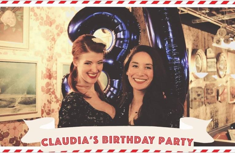 Claudia's Birthday!!! // Vlogmas Day 3 (ish) [CC]