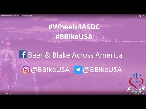 Bike Across America to Support ASDC! RID Cares 2019