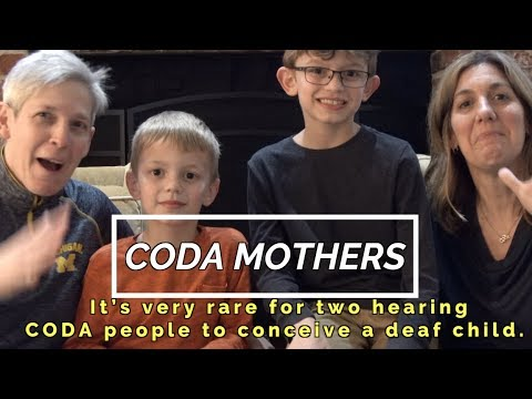 Codas Mother With Two Deaf Kids!