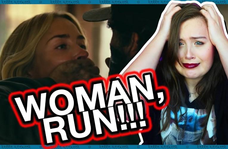 Deaf Person Reacts To A Quiet Place 2 Trailer | Rikki Poynter