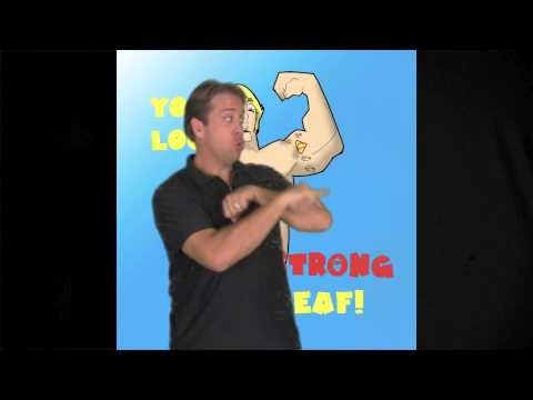 Name Signs – Keith Wann ASL Comedy