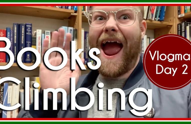 Books and Climbing | Vlog | Vlogmas