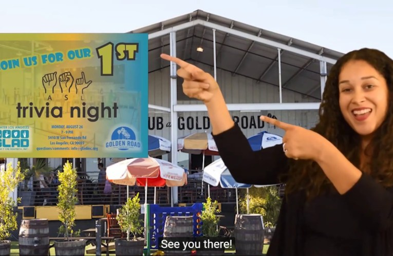 ASL Trivia Night at Golden Road Brewing