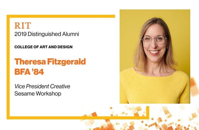 2019 CAD Distinguished Alumna: Theresa Fitzgerald BFA '84