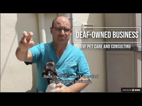 Deaf-Owned Business – EVF Pet Care & Consulting