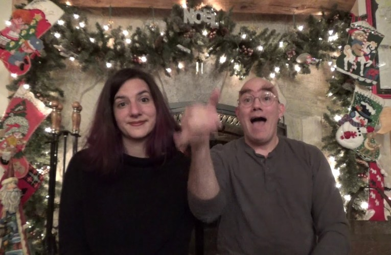 Christmas Without You Is . . . translated into American Sign Language