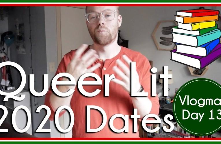 Queer Lit Readathon 2020 Dates | Vlogmas