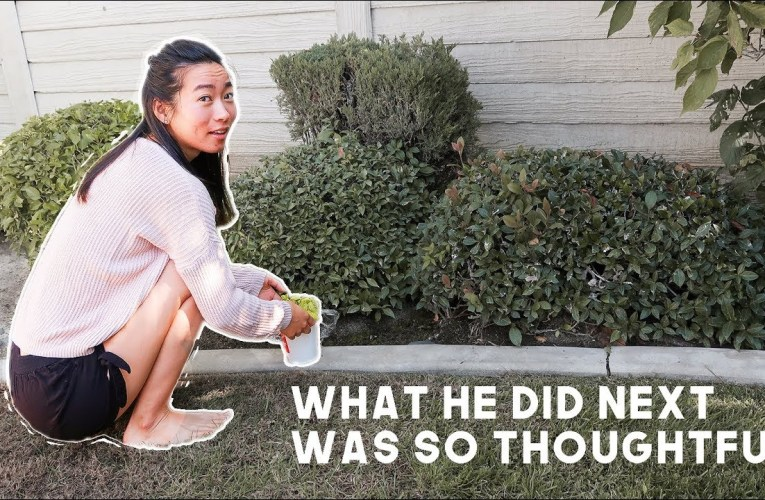 He Saw Me Squatting…