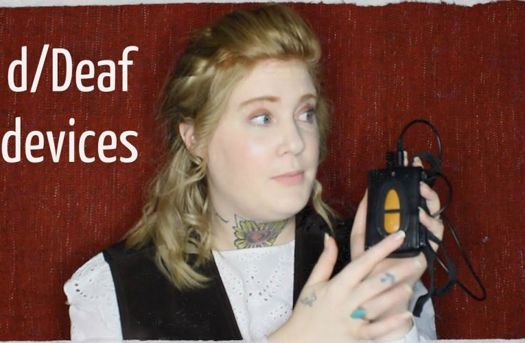 My current deaf devices|| DEAF AWARENESS DAY 8
