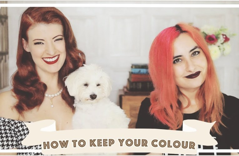 How To Keep Coloured Hair Perfect // L'Oreal & goodDyeYoung