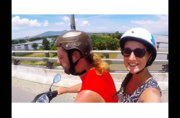 Crazy and fun ride on a motorbike across Vietnam!