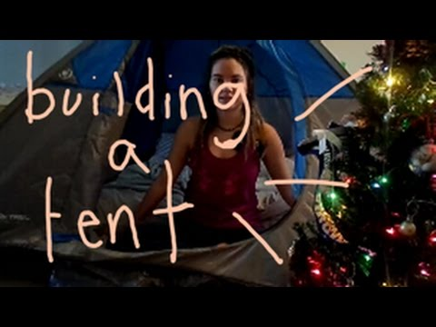 let's build a tent | Vlogmas Day 23